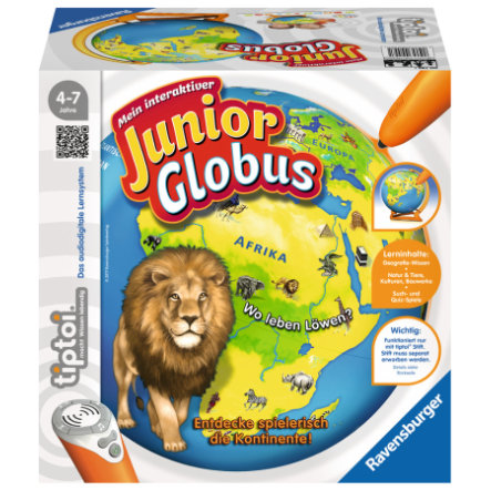 Ravensburger tiptoi® Mein Interaktiver Junior Globus