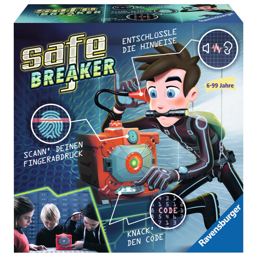 Ravensburger Kinderspiel - Safe Breaker