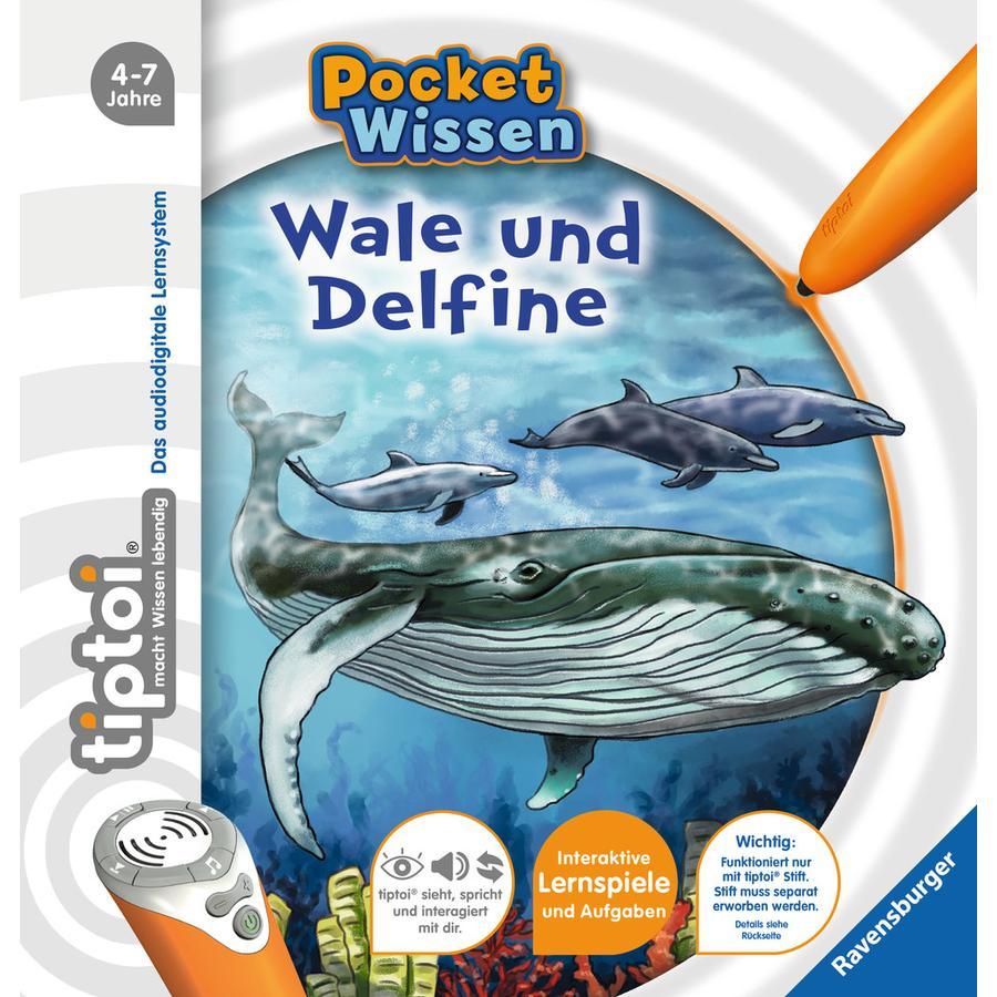 Ravensburger tiptoi® Pocket Wissen: Wale und Delfine