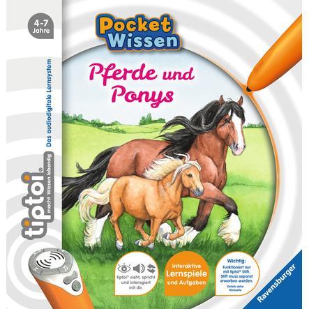 Ravensburger tiptoi® Pocket Wissen: Pferde und Ponys