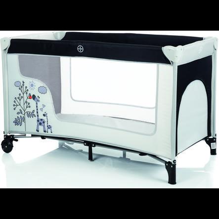 fillikid lit parapluie famille girafe gris noir. Black Bedroom Furniture Sets. Home Design Ideas