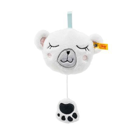 Steiff Soft Cuddly Friends Muziekdoosje Iggy ijsbeer 13 cm