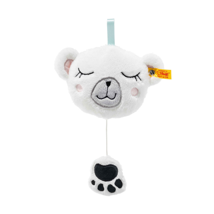 Steiff Peluche musicale ours polaire Soft Cuddly Friends Iggy 13 cm