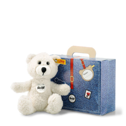 Steiff Sunny Teddybär im Koffer, creme,  22 cm