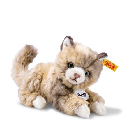 Steiff  Chat Lucy 18 cm, tacheté de brun