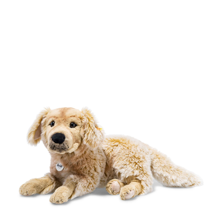 Steiff Peluche chien golden retriever Andor , 45 cm marron clair