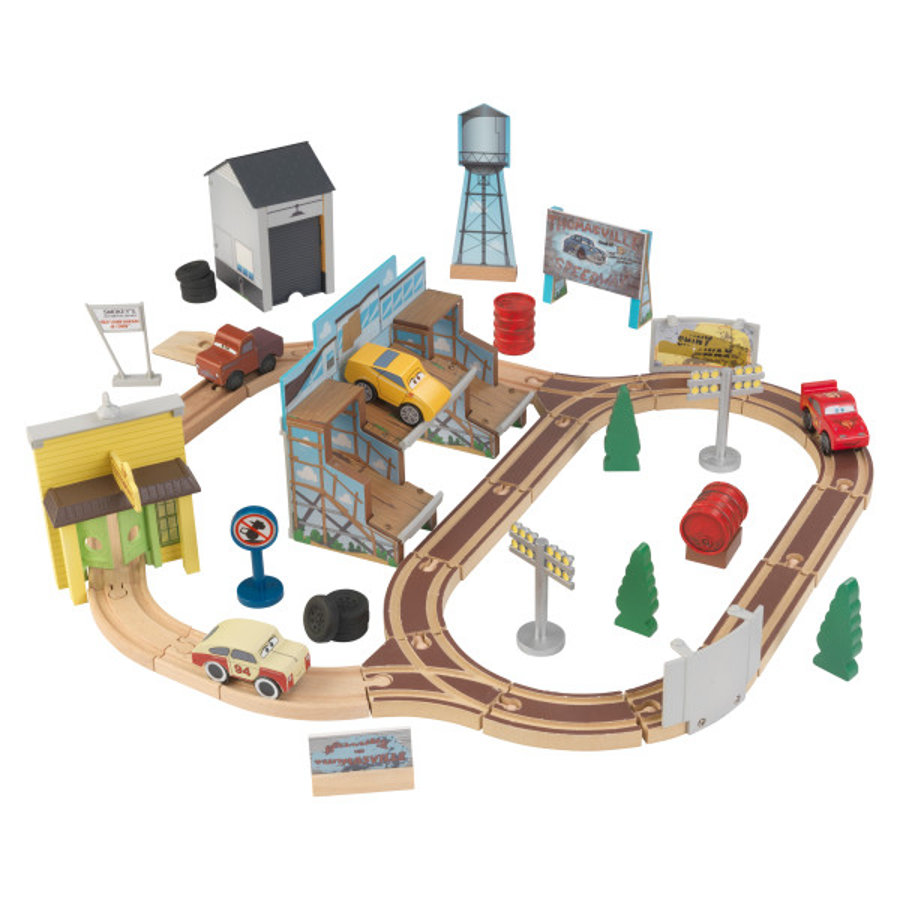 Set con circuito Thomasville Disney® Cars 3 By KidKraft