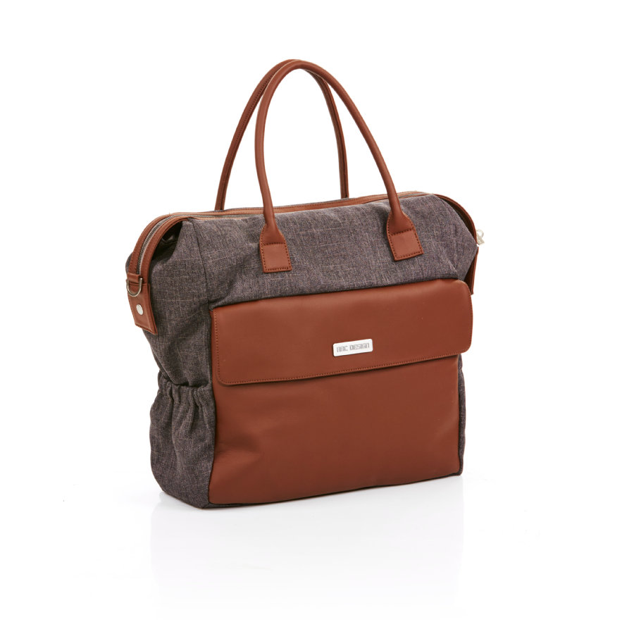 ABC DESIGN Wickeltasche Jetset walnut