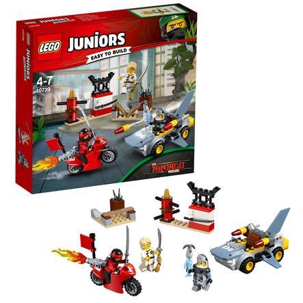 LEGO® JUNIORS - Tiburón de ataque 10739
