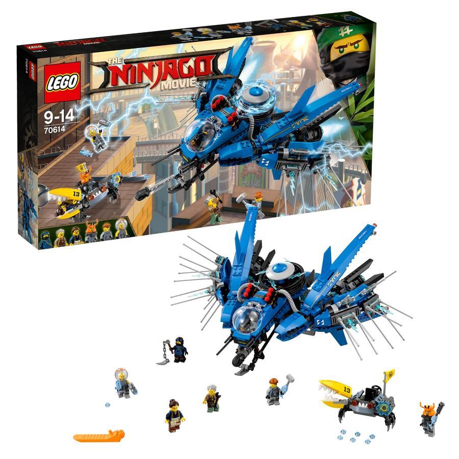 Lego ninjago le jet supersonique de foudre 70614 - Lego ninjago d or ...