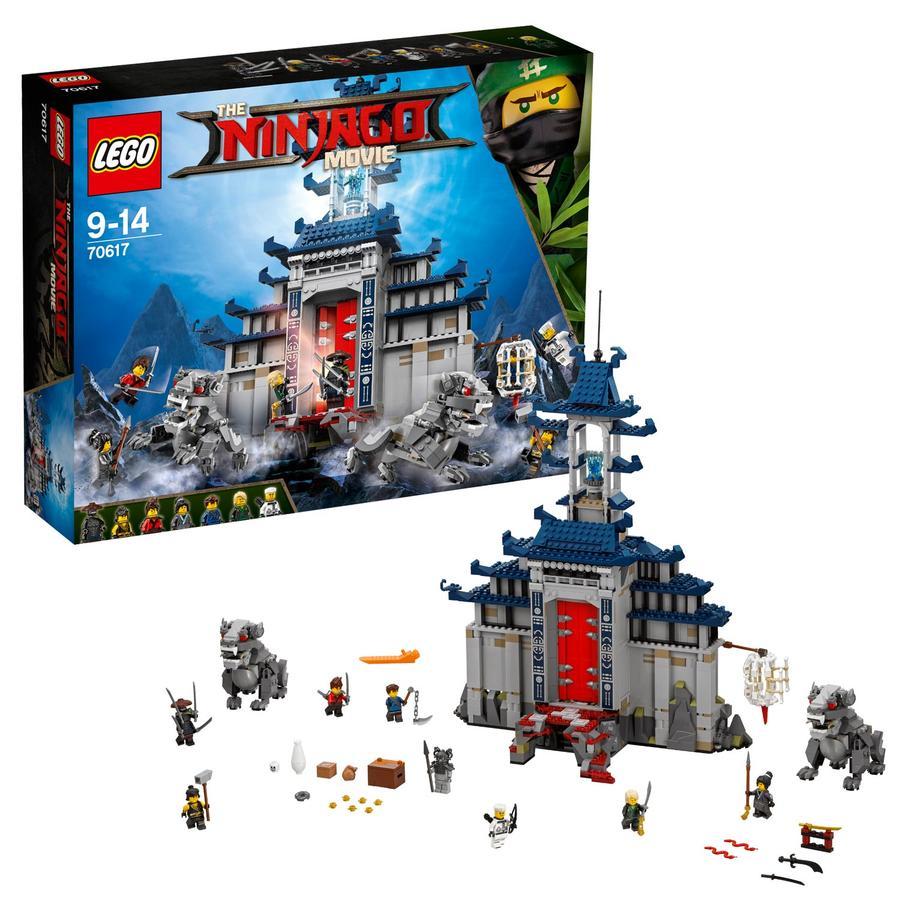 LEGO® NINJAGO - Ultimativ ultimatives Tempel-Versteck 70617