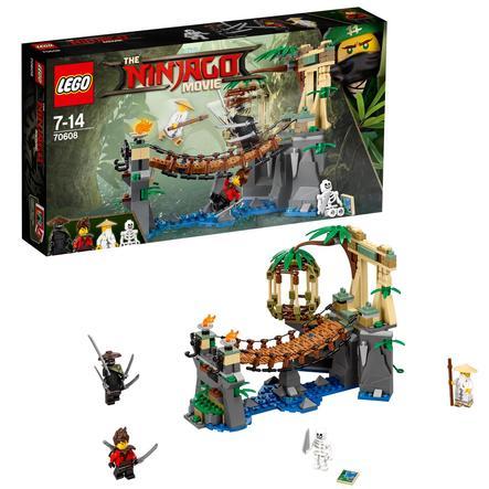 LEGO® NINJAGO - Le pont de la jungle 70608