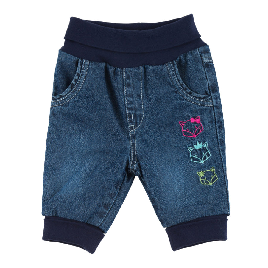 sigikid Girls Thermojeans indigo