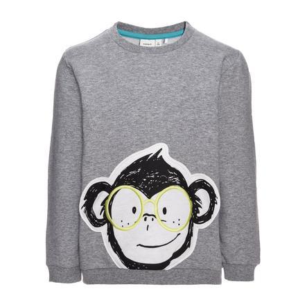 name it Boys Sweatshirt Fefly grey melange