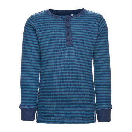 name it Boys Langarmshirt Ringel insignia blue