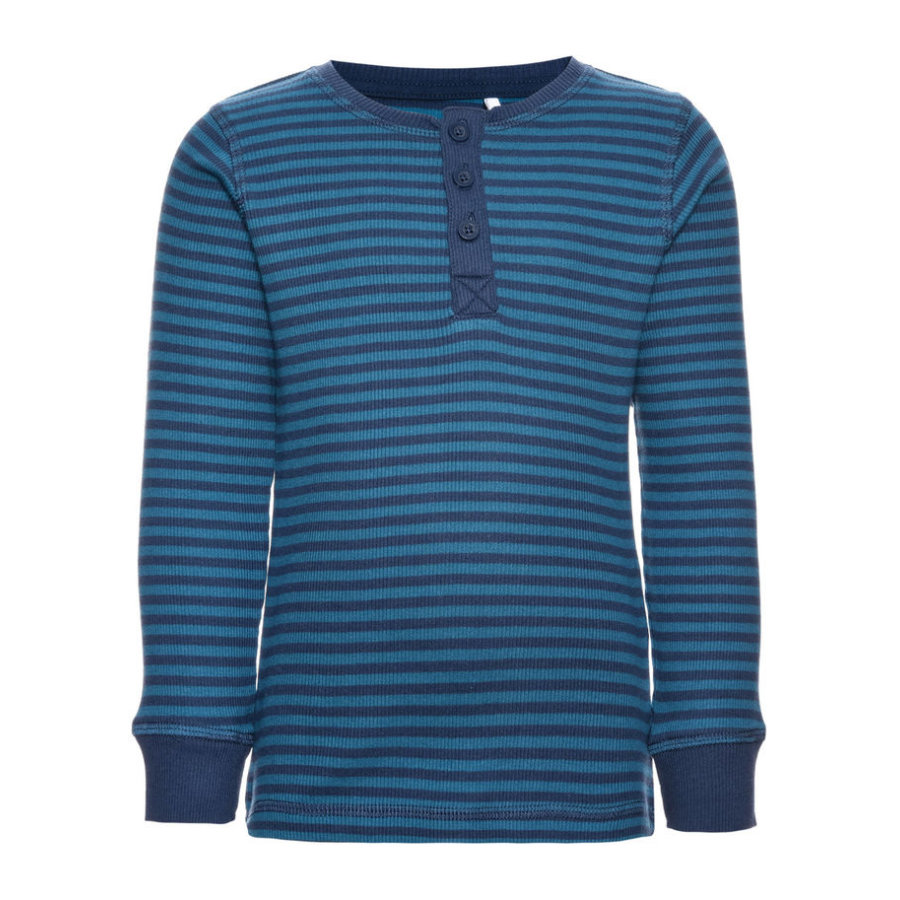 name it Boys Longsleeve shirt Ringel insignia blue