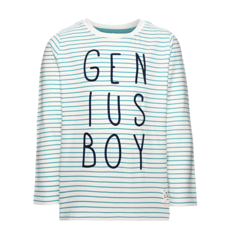 name it Boys Langarmshirt Genius baltic
