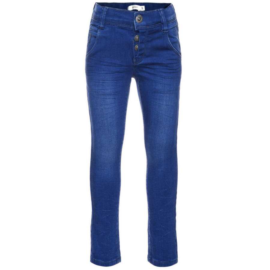 name it Jeans Taxa medium blue denim slim
