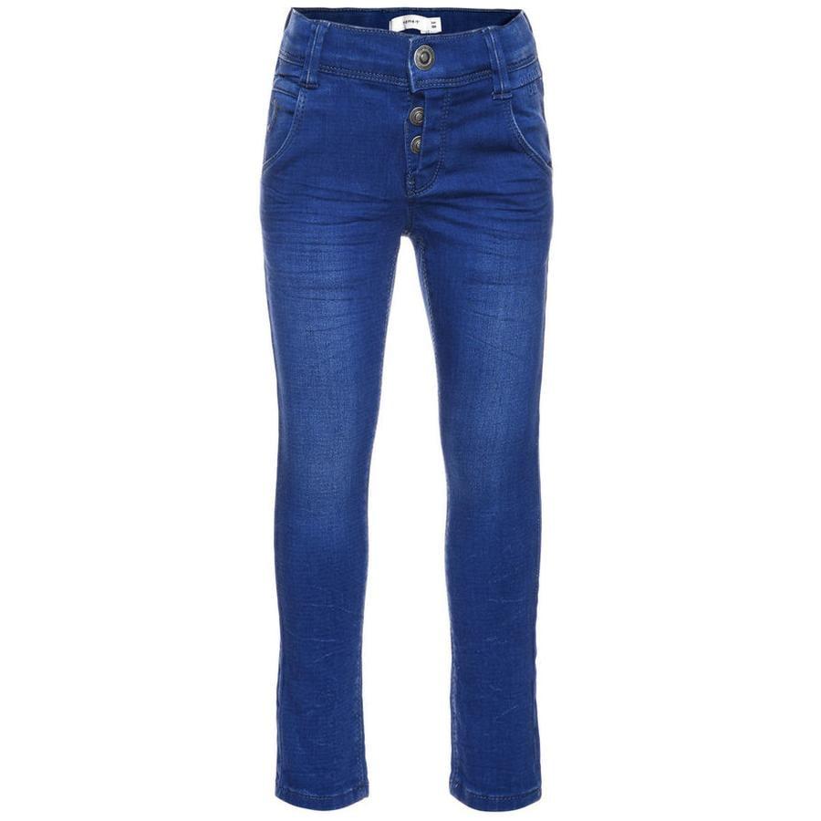 name it Jeans Taxa medium blue denim slim