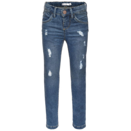 name it Girls Jeans skinny fit medium blue denim
