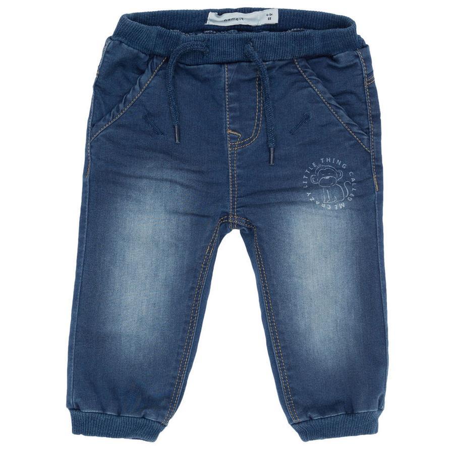 name it Jeans Bertil Regular medio denim azul