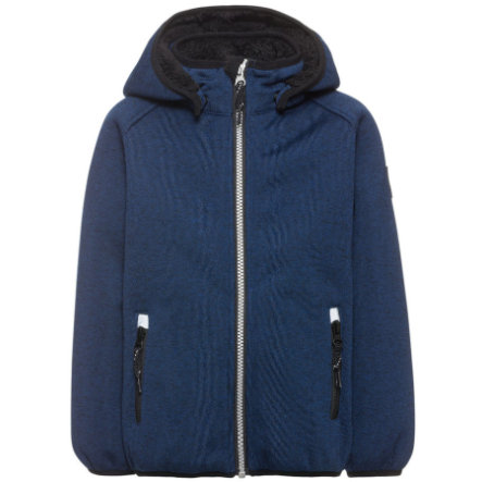 name it Veste enfant softshell Teddy Beta bleu