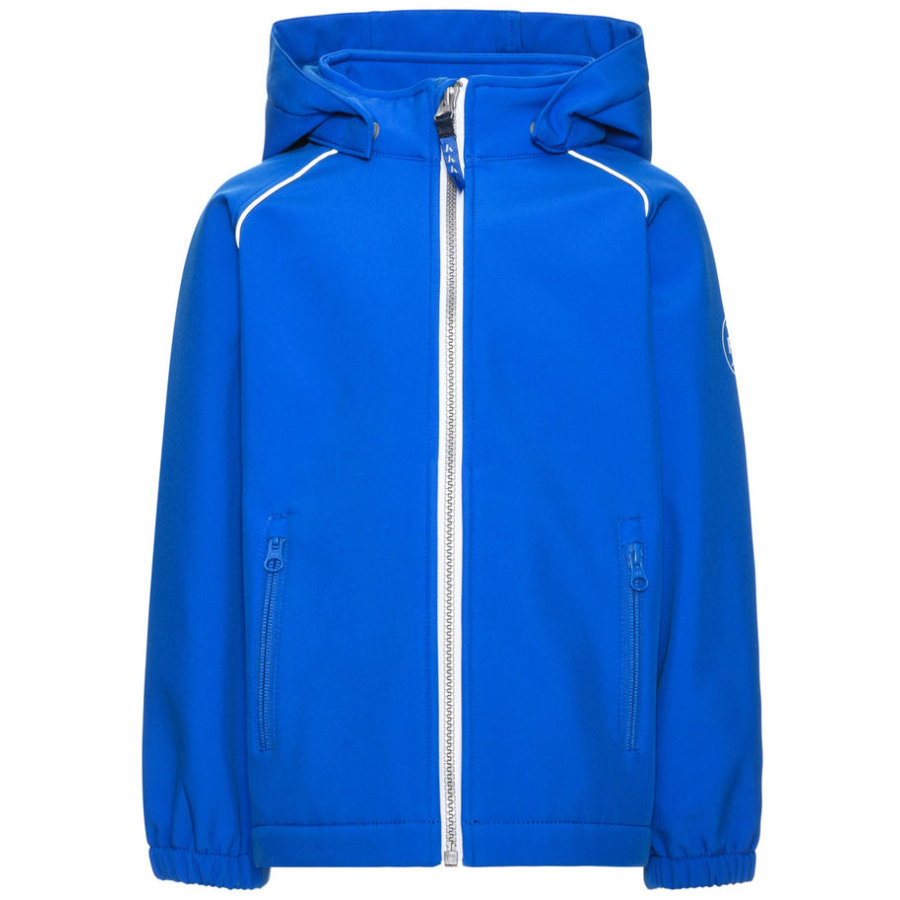 name it Veste enfant garçon softshell Alfa bleu