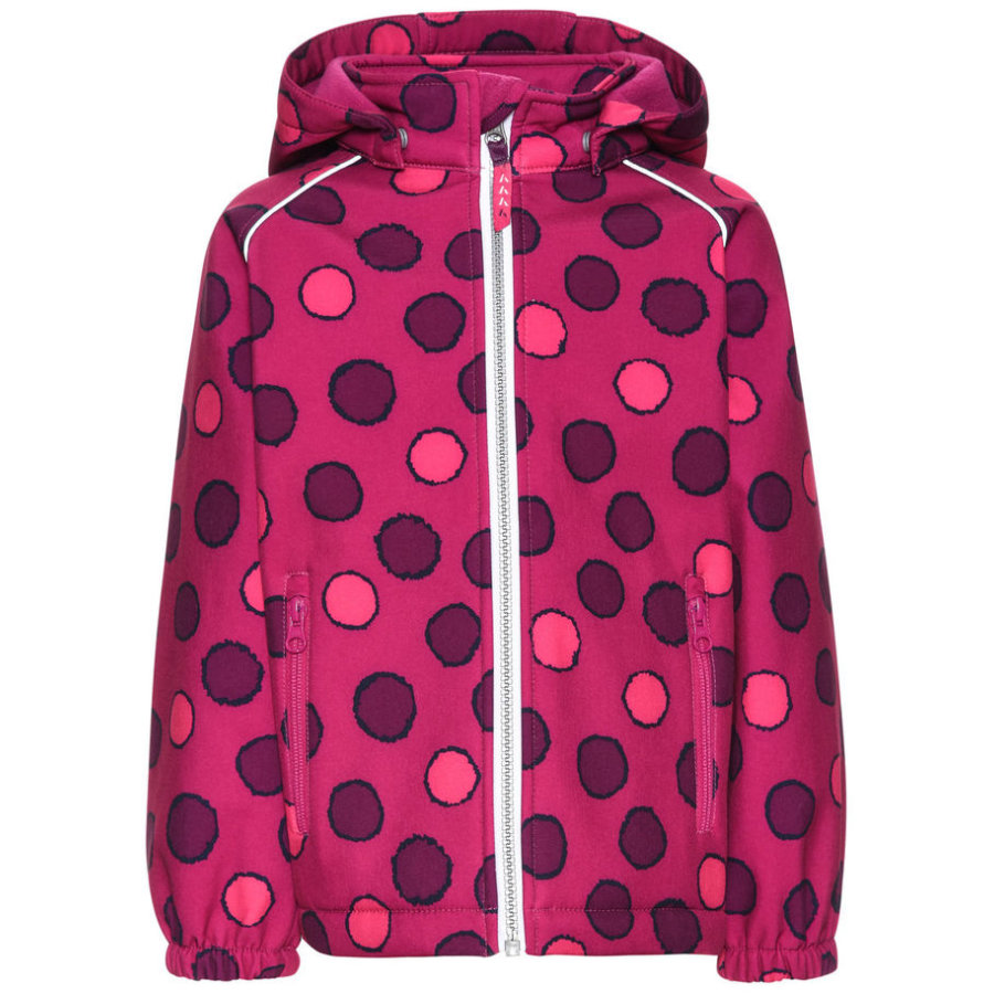 name it Girls Softshelljacke Alfa fuchsia purple