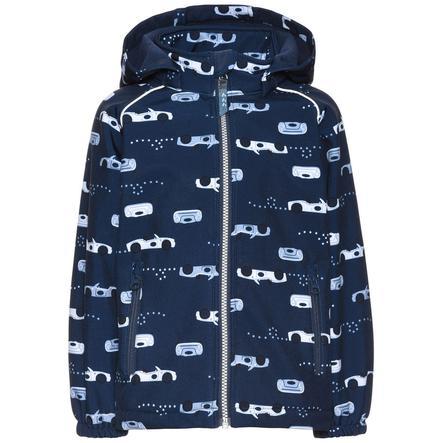 name it Boys Softshell jacket Alfa Autos vintage indigo