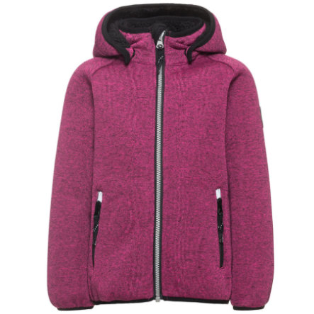 name it Girl s Soft shelljacket Beta Teddy festival fuchsia
