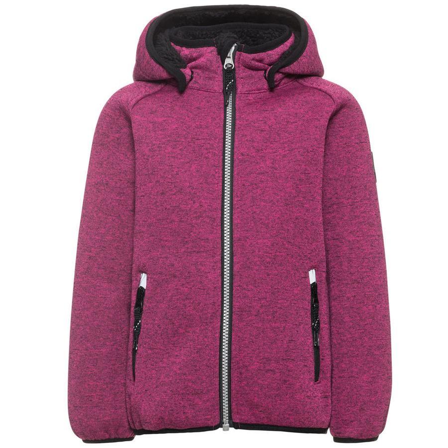 name it Girls Softshell jacket Beta Teddy festival fuchsia