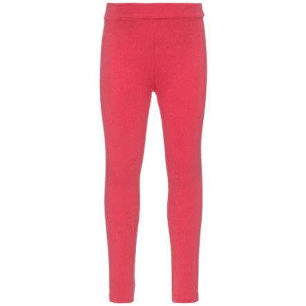 name it Girls Leggings Sweat Davina raspberry wine