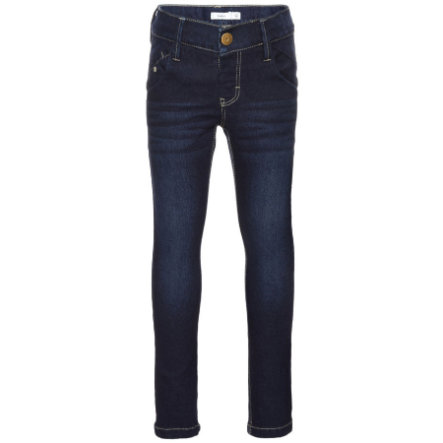 name it Girl jeans slim fit slim fit denim blu scuro