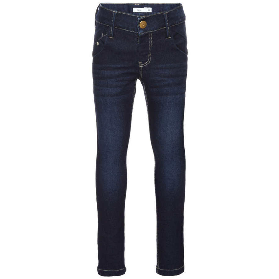name it Girls Jeans slim fit dark blue denim