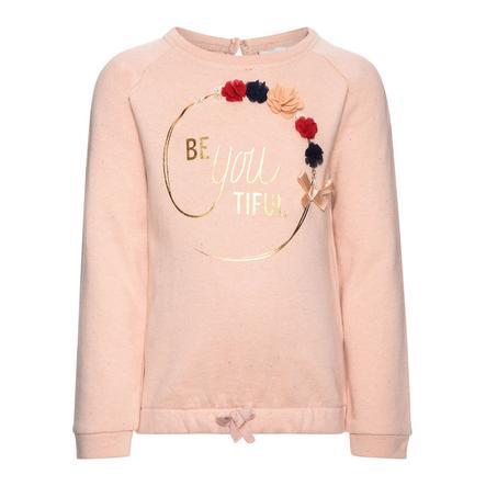 name it Girl s Sweatshirt Fefla fleurs du soir sable