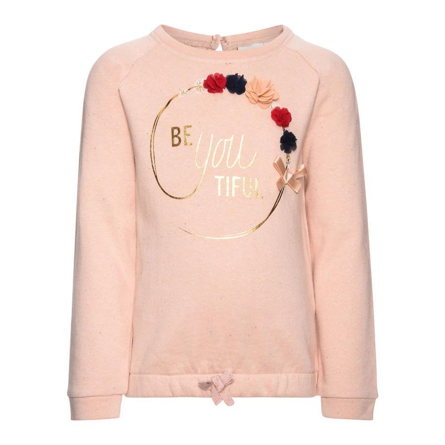 name it Girls Sweatshirt Fefla Blumen evening sand