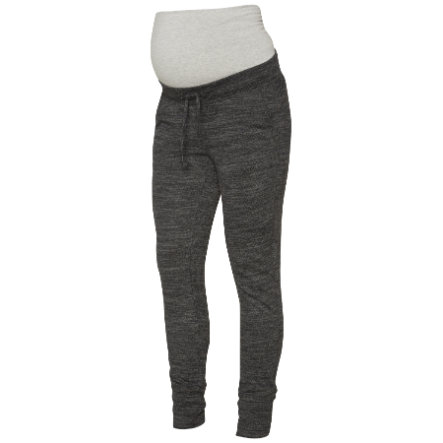 mama licious Pantalones de chándal MLMARISA gris oscuro mélange
