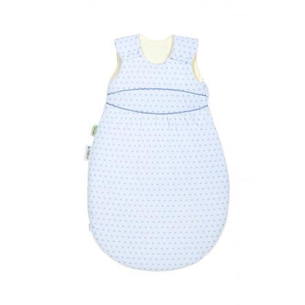 odenwälder Saco de dormir con puntos azul cielo 70 - 110 cm