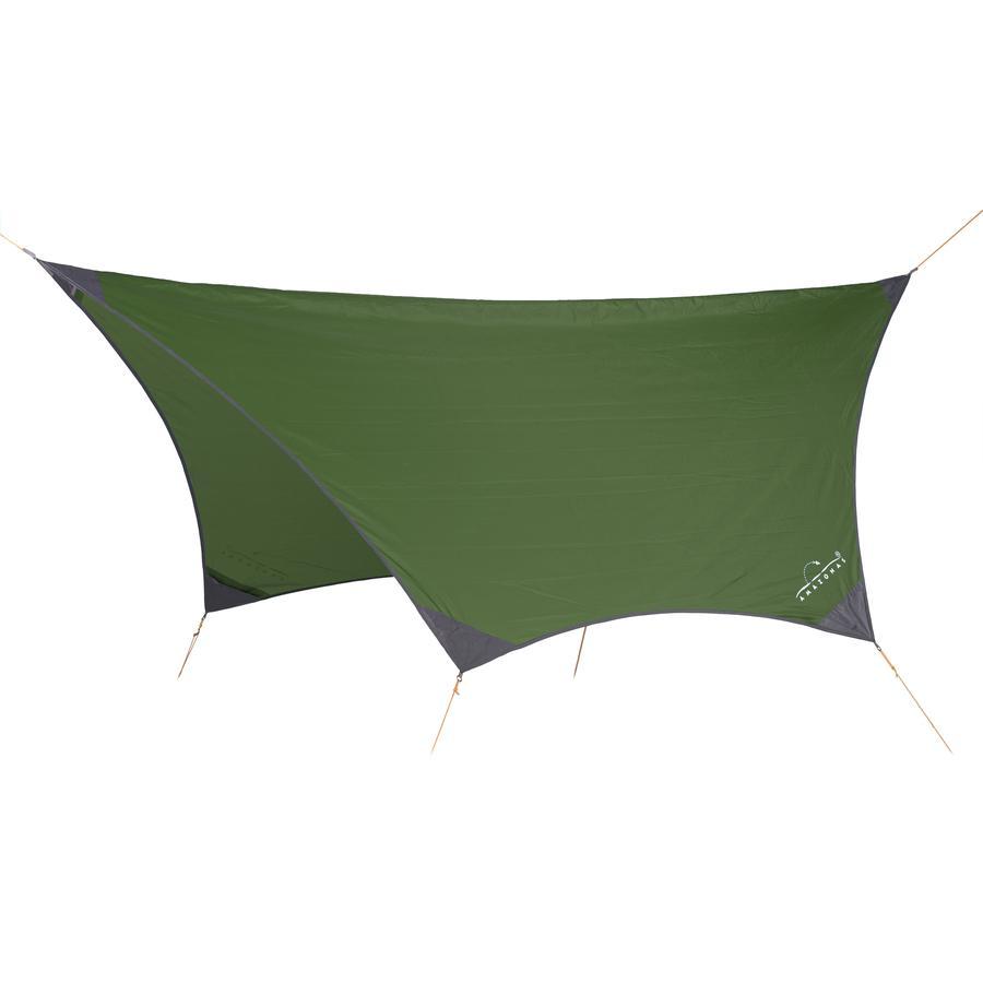 AMAZONAS Stříška proti dešti pro houpací sítě Jungle Tent Pro zelená