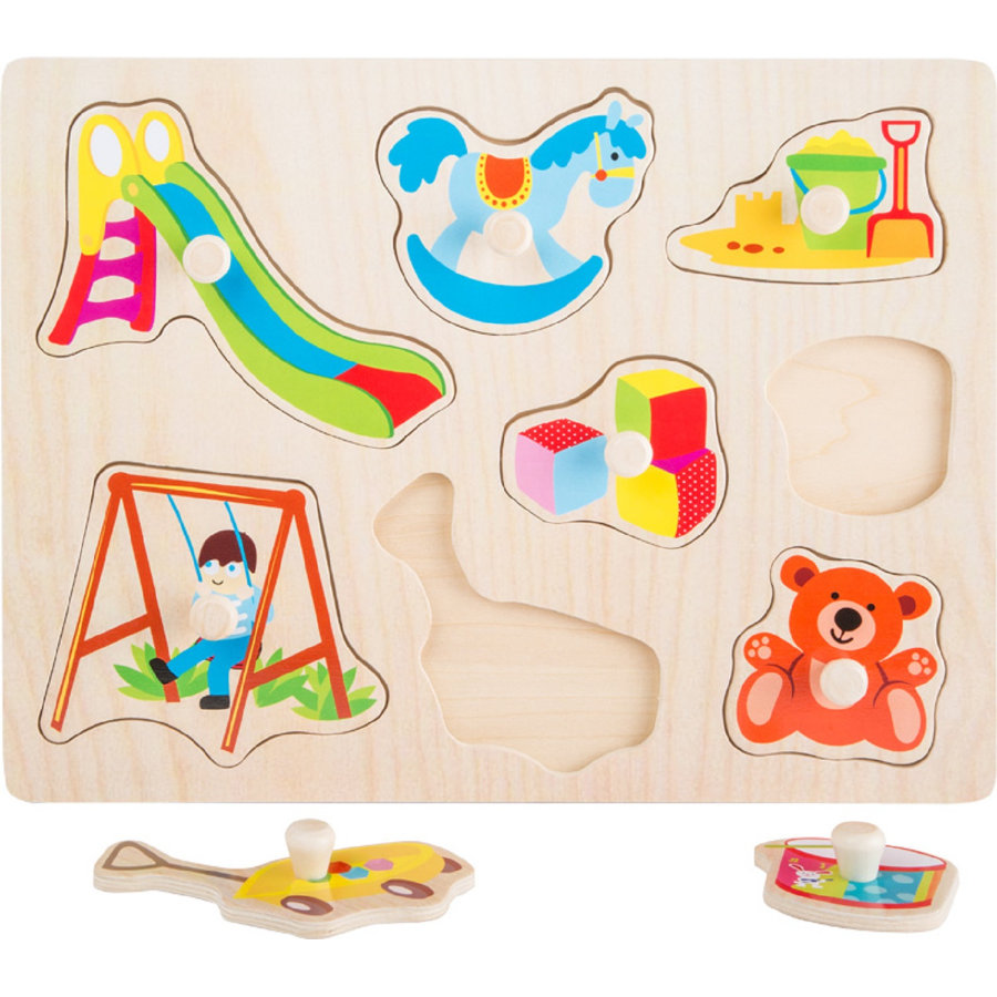 small foot® Setpuzzle Spielzeug, 8 Teile