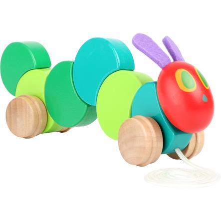 small foot® Zabawka do ciągnięcia - Bardzo głodna Gąsienica