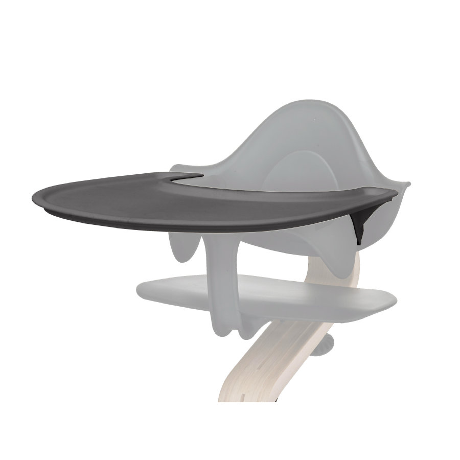 nomi by evomove Tablette chaise haute enfant gris