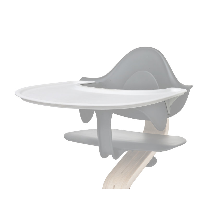 nomi by evomove Tablette chaise haute enfant blanc