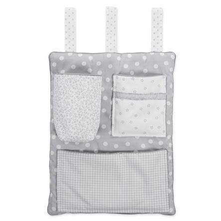babybay Organiseur pour lit cododo, gris nacré