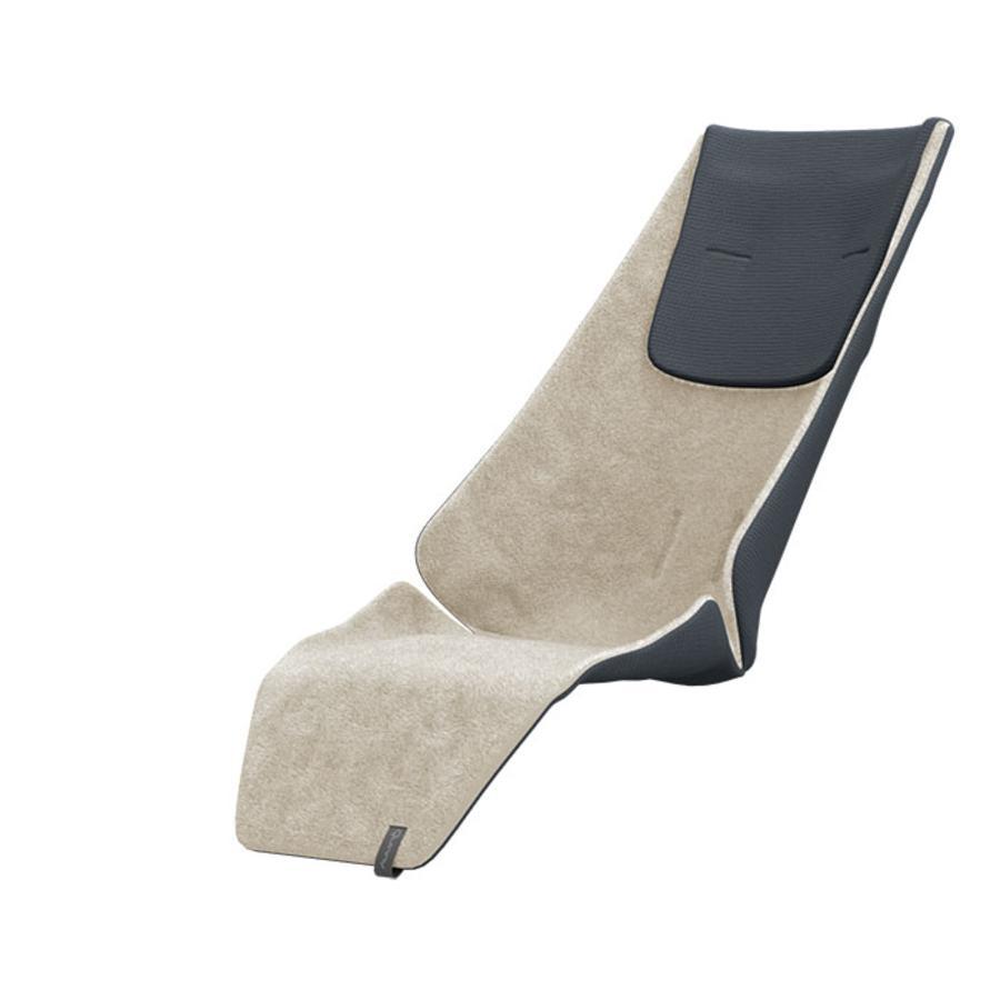 Quinny Matelas d'assise hiver Zapp Flex, Flex Plus, Xpress, gris/beige