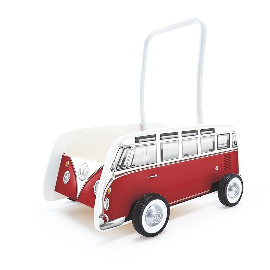 Hape Chodzik Pchacz Bus czerwony E0379