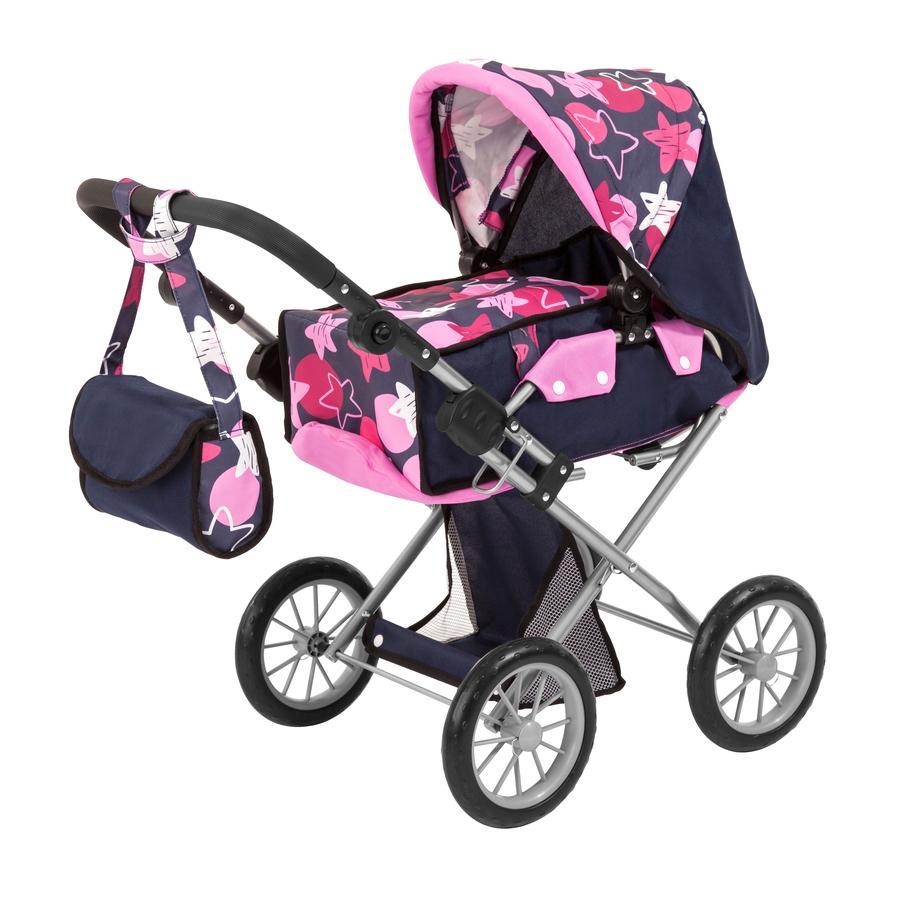 bayer Design Wózek dla lalek City Star, niebieski