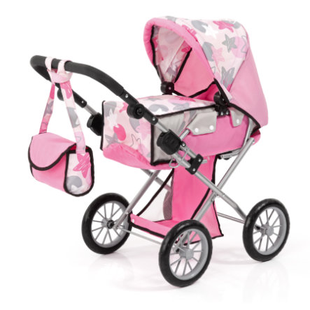 bayer Design Poppenwagen City Star, roze
