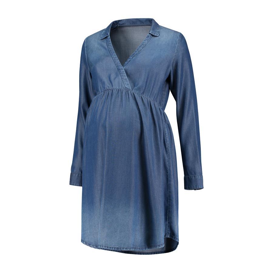 LOVE2WAIT Sukienka ciążowa Denim Tencel Stone Wash