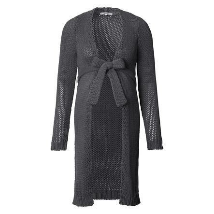 noppies Kardigan Sweter dla kobiet w ciąży Hazel Medium Grey